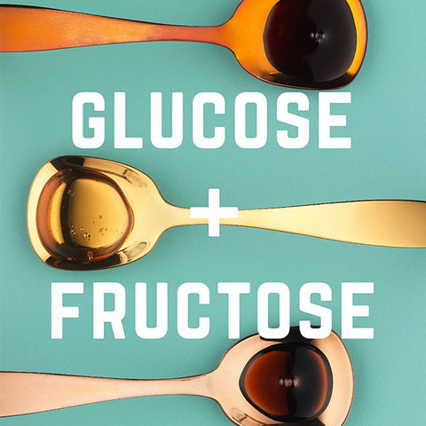 Veloforte-gels and glucose-fructose