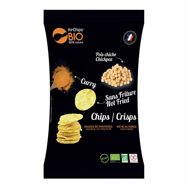 Nutri-bay | AIRCHIPS - Chips without Frying (110g) - Chickpeas Curry