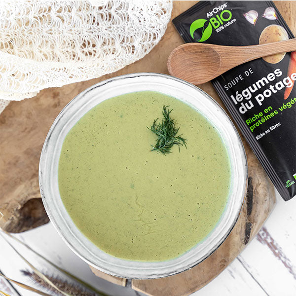 Nutri-bay | AIRCHIPS - Organic Vegan Protein Soup