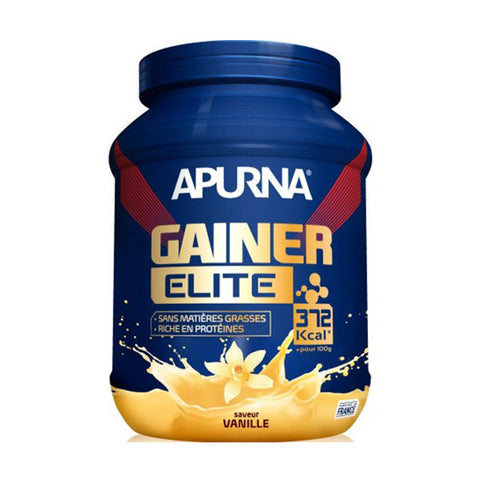 Nutri-Bay APURNA - Boisson GAINER ELITE (1,1kg) - Vanille