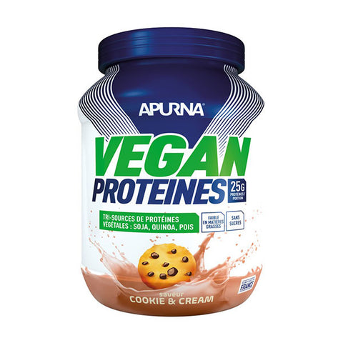 Nutri-Bay APURNA - Vegan Protéines (660g) - Cookie & Cream