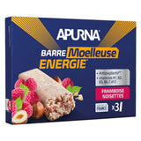 Nutri-Bay - Apurna Soft Energy Riegel (40g) - Himbeer-Haselnuss - Dose