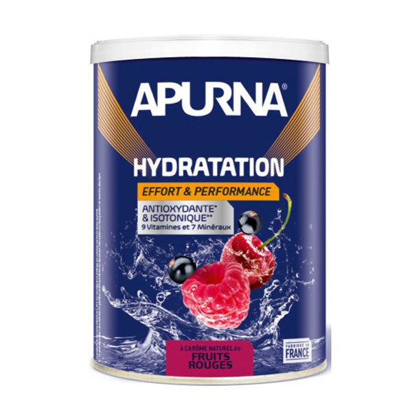 Nutri-Bay Apurna Boisson Hydratation Antioxydante & Isotonique (500g) - Fruits Rouges