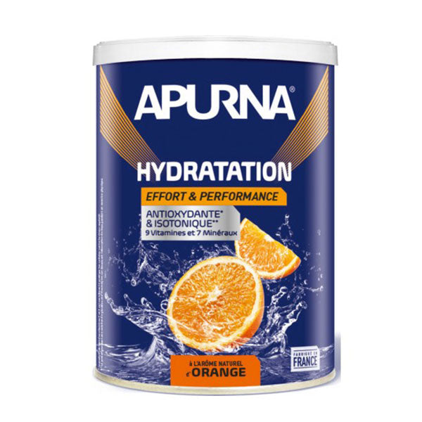 Nutri-Bay Apurna Boisson Hydratation Antioxydante & Isotonique (500g) - Orange
