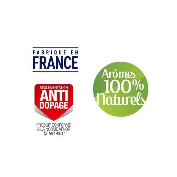 Nutri-Bay Apurna anti-dopagae - made in France - 100% natural flavors - logos