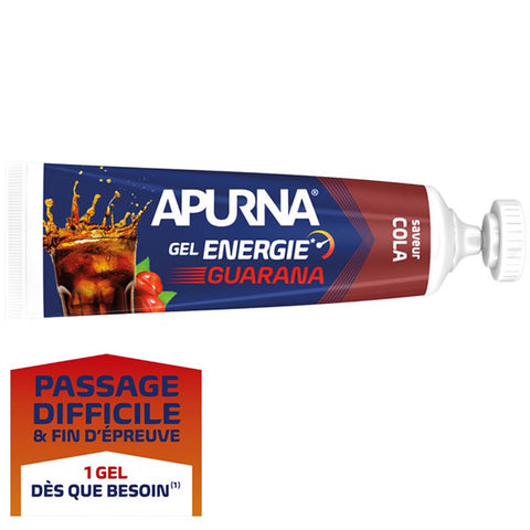Nutri-Bay Apurna Gel Energie Passage Difficile Guarana (35g) - Cola