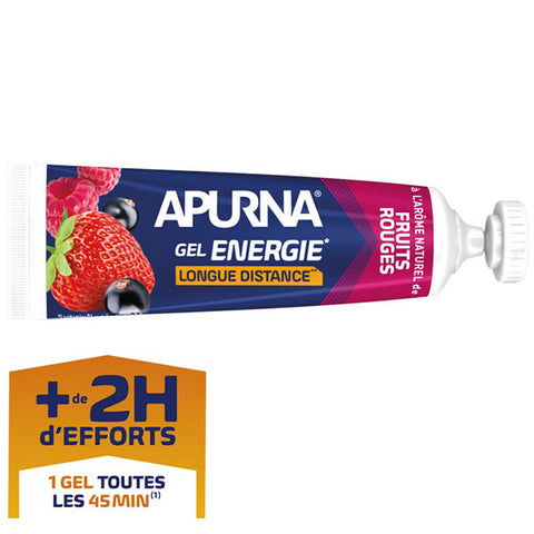 Nutri-Bay Apurna Gel Energie Longue Distance (35g) - Fruits Rouges