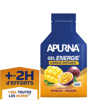 Nutri-Bay Apurna Gel Energie Longue Distance (35g) - Mangue-Passion