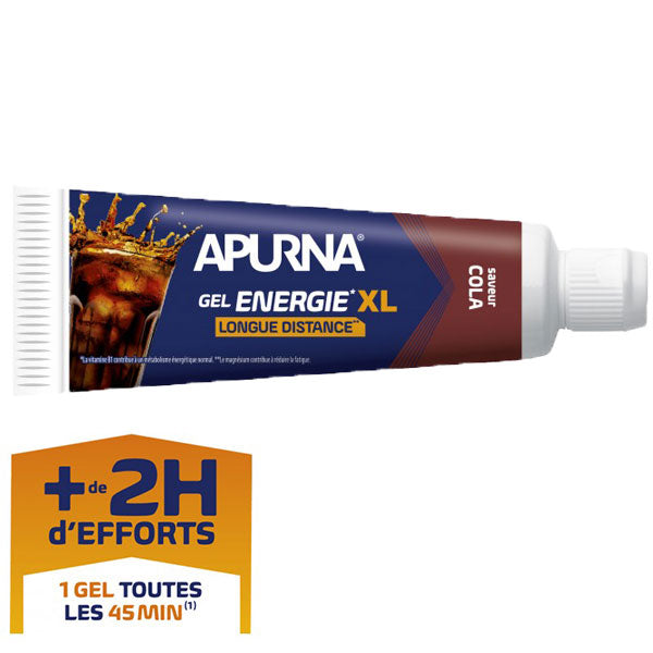 Nutri-Bay I Apurna Long Distance Energy Gel XL richiudibile 70g Cola