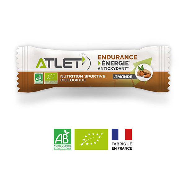 Nutri-bay | ATLET - ORGANIC Energy Bar (25g) - Almond