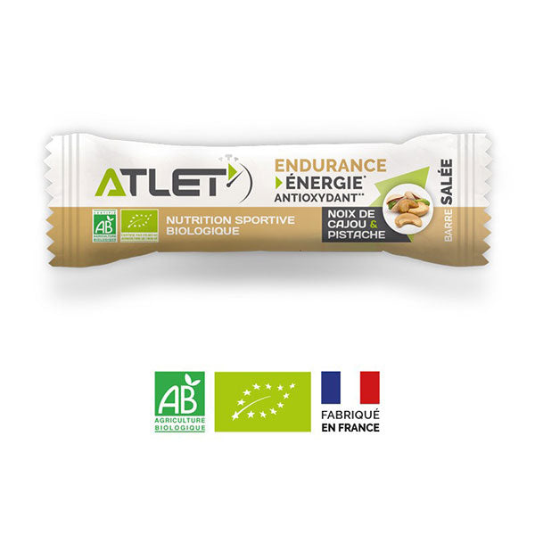 Nutri-bay | ATLET - Organic Energy Salty Bar Cashew Nuts Pistachio
