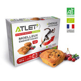 Nutri-bay | ATLET - Moist Energetic BIO (4x40g) - Red Fruits
