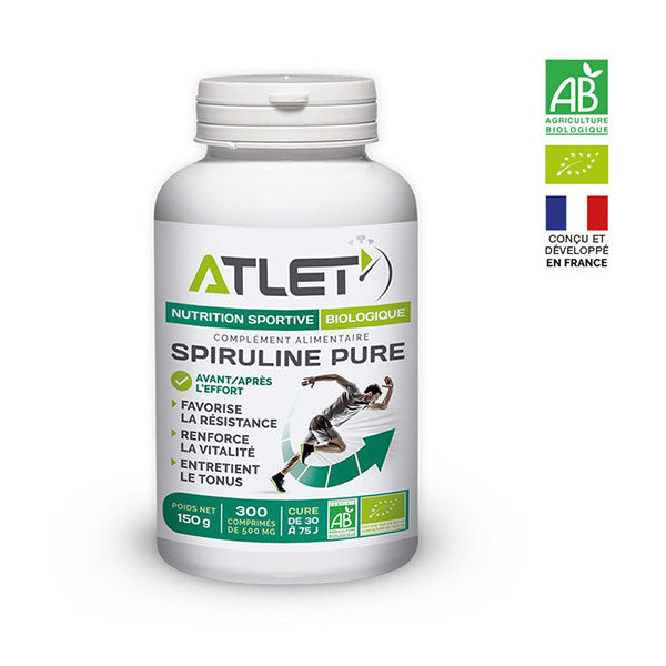 Nutri-bay | ATELT - Organic Spirulina (300 Tablets from 500mg)