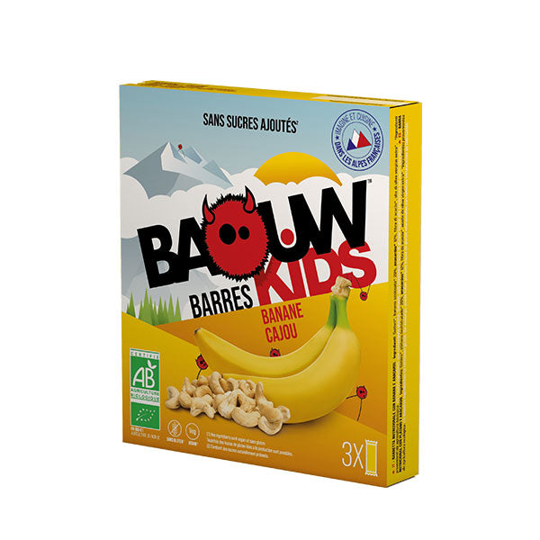Nutri-bay | BAOUW Bar Box (3x20g) - Banana Anacardi