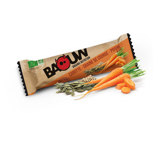 Nutri-Bay Baouw Energy Bar - Carrot-Squash Seed-White Pepper