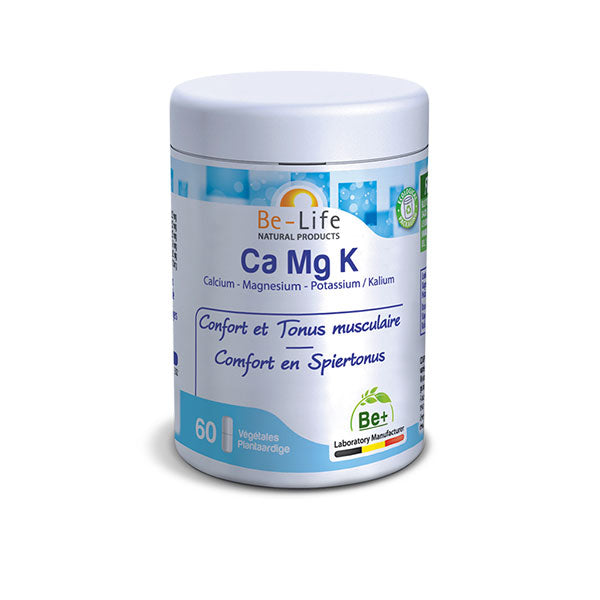 Nutri-Bay Be-life Ca Mg K - Calcio-Magnesio-Potassio (Capsule 60)