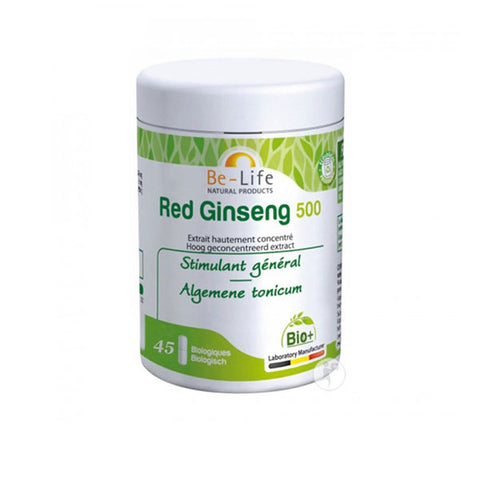 Nutri-Bay Be-Life Red Ginseng 500 BIO (45 Gélules)