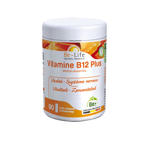 Nutri-Bay Be-Life Vitamine B12 Plus (90 Capsules)