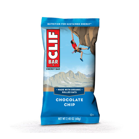 Nutri-Bay  CLIF BAR - Barre Énergétique (68g) - Chocolate Chip