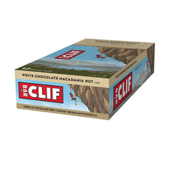 Nutri-Bay Clif Bar Box Barres Énergétiques White Chocolate Macademia Nut