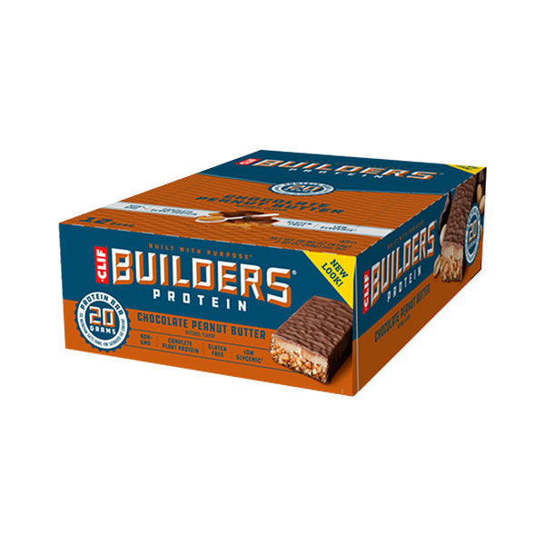 Nutri-Bay Clif builders-protein-chocolate-bar peanut butter - box