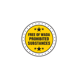 Free of Wada Prohibited Substances Logo
