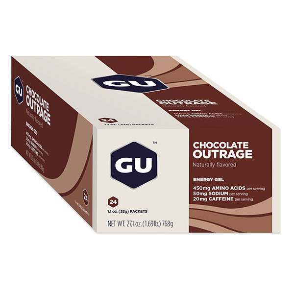 Nutri-Bay GU - Energy Energetic Gel (32g) - Chocolate Outrage - scatola chiusa
