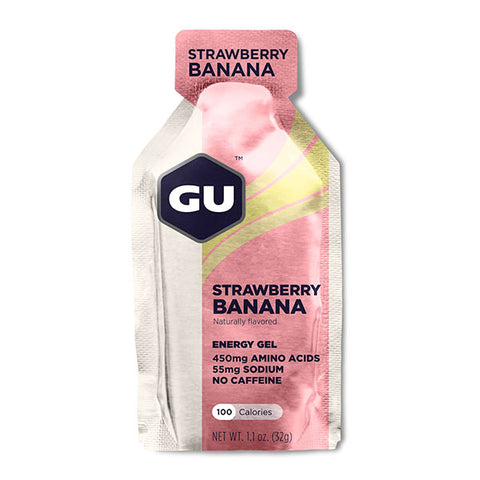 Nutri-Bay GU - Gel Energétique (32g) - Fraise Banane - Strawberry banana