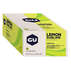 Nutri-Bay GU - Gel Energétique (32g) - Lemon Sublime - Closed Box