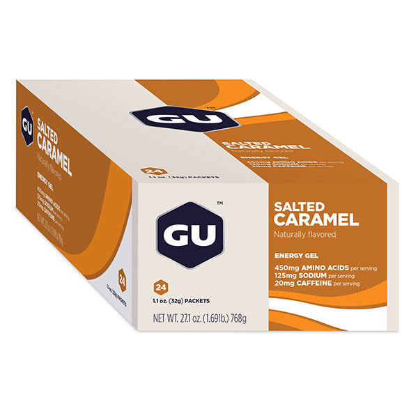 Nutri-Bay GU - Energy Gel (32g) - Salted Caramel - Closed Box