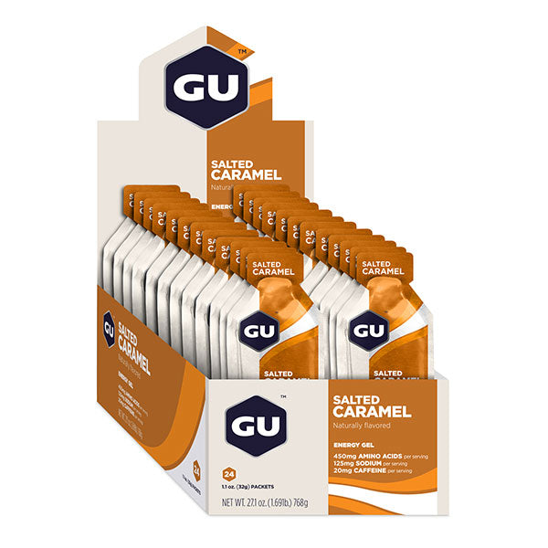 Nutri-Bay GU - Energy Gel (32g) - Salted Caramel - Open Box