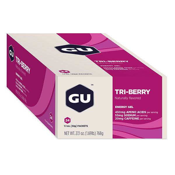 Nutri-bay | GU ENERGY - Energy Gel (32g) - Tri-Berry - Scatola