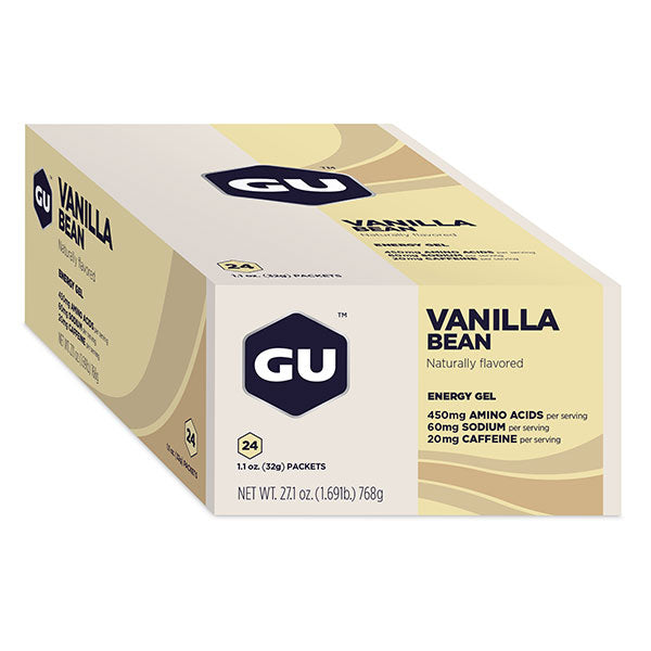 Nutri-Bay GU Energy Gel (32g) - Vanilla - vanilla bean - closed box