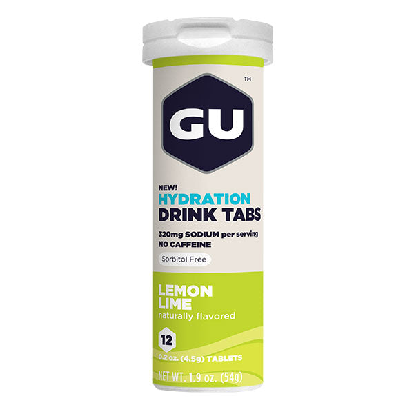 Nutri-Bay GU Energy - Hydration Drink Tabs (12x4,5g) - Lemon-Lime