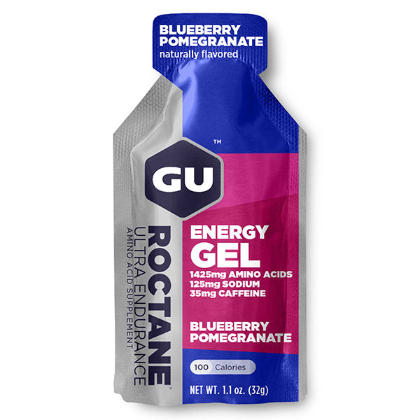 Nutri-Bay GU - Roctane Ultra Endurance Energy Gel (32g) - Blueberry Pomegranade - Blueberry Grenade
