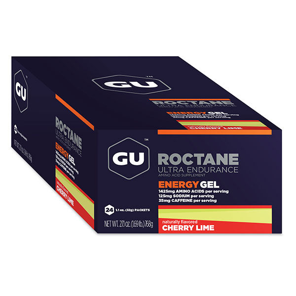 Nutri-bay | GU - Roctane Ultra Endurance Gel (32g) - Cherry-Lime - Box