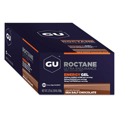 Nutri-Bay GU - Roctane Ultra Endurance Gel Energétique (32g) - Sea Salt Chocolate - closed box