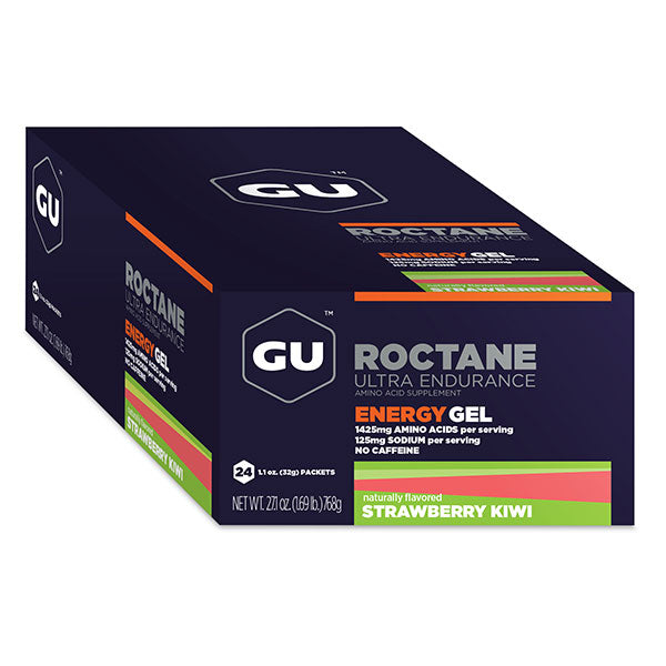 Nutri-Bay GU - Roctane Ultra Endurance Gel Energétique (32g) - strawberry kiwi - Fraise Kiwi - closed box