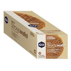 Nutri-Bay GU - StroopWafel - Gauffre Energétique (32g) - Caramel Coffee - closed box