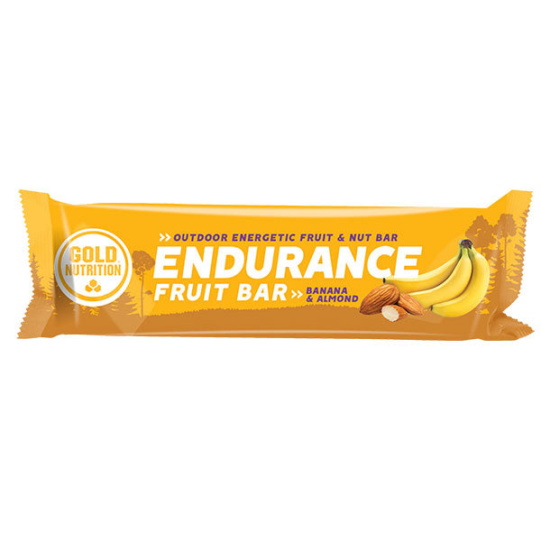 Nutri-bay | GOLD NUTRITION - Endurance Fruit Bar (40g) Banana-Almonds