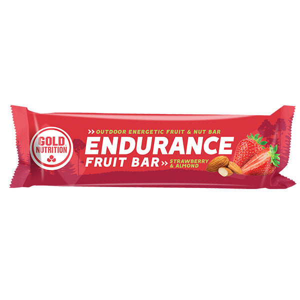 Nutri-bay | GOLD NUTRITION Endurance Fruit Bar (40g) Strawberry-Almonds