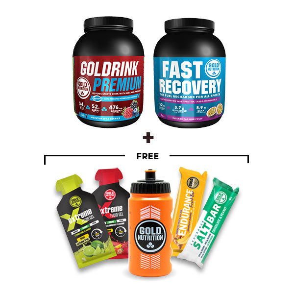 Nutri-bay | GoldNutrition - Endurance Premium Bundle - Wild Berries & Passion Fruit