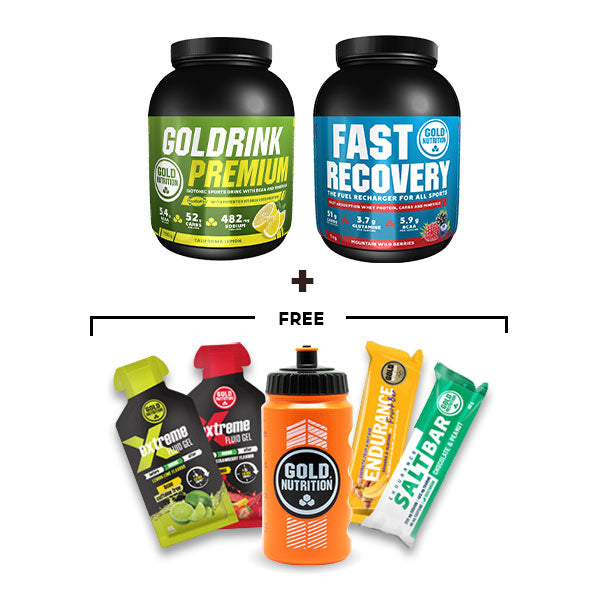 Nutri-bay | GoldNutrition - Endurance Premium Bundle - Lemon & Wild Berries