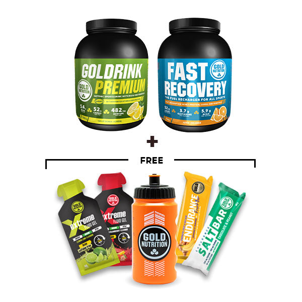 Nutri-bay | GoldNutrition - Endurance Premium Bundle - Lemon & Orange