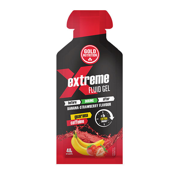 Nutri-bay | GOLD NUTRITION - Extreme Fluid Gel (40g) - Banana-Strawberry