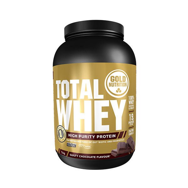 Nutri-bay | GOLD NUTRITION - Total Whey (1kg) - Chocolate