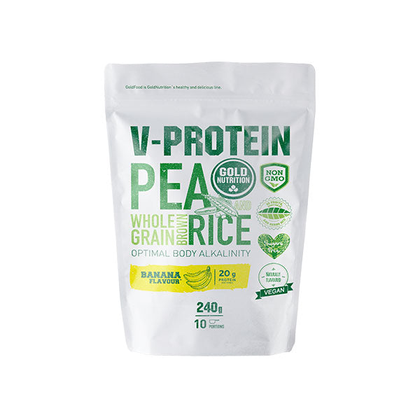 Nutri-bay | GOLD NUTRITION - V-Protein (240g) - Banana