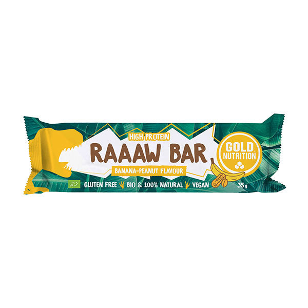 Nutri-bay | GoldNutrition - Raaaw Bar BIO (35g) -  Banana Peanut
