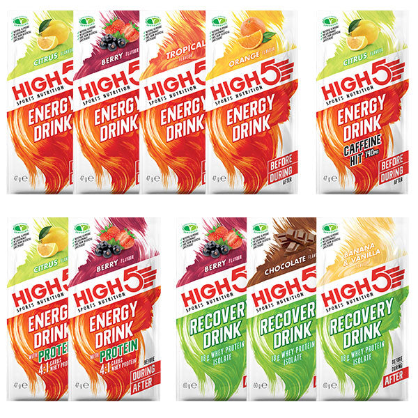 Nutri-Bucht | HIGH5 - All Gedrénks - Discovery Pack
