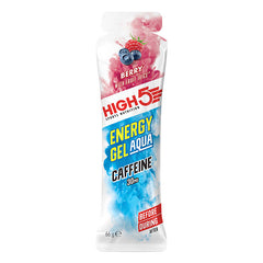 Energy Gel AQUA Caffeine (66mL) - Berry